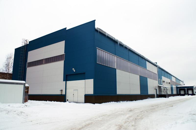 Складское здание в Балашихе 345 Механический завод