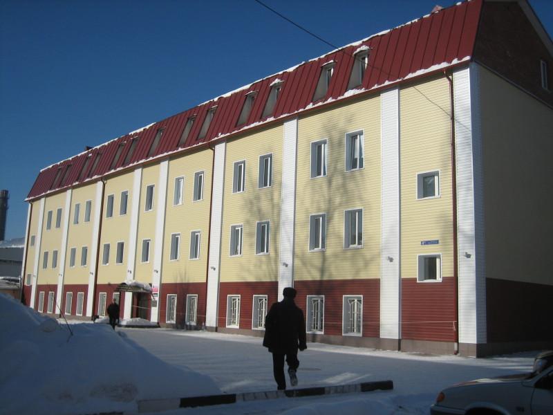Реконструкция административного здания (в том числе устройство мансарданого этажа и облицовка фасада) пл.Ленина, г.Ногинск