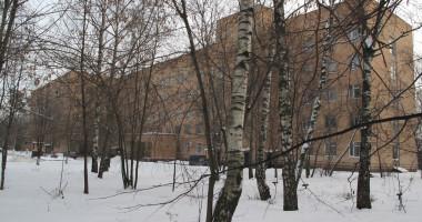 Здание Ногинского роддома на территории ЦРБ